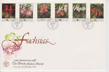 Unaddressed Isle of Man FDC First Day Cover 1988 Fuchsias 10% off 5