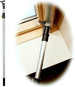 WinHux® Telescopic STRONG Window Pole Opener to Control VELUX® Skylight (2m)