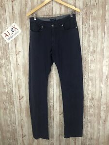 New! PETER MILLAR Men's Gabardine Stretch Pants Slim 32x36 Purplish Blue N95