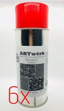 Sixpack Basislack Schwarz 400ml Spraydose auch für WTD Wassertransferdruck