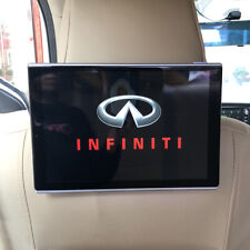 Wifi Bluetooth Android Car Headrest Monitor For Infiniti Rear Seat Entertainment