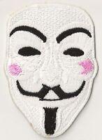 Patche écusson Anonymous Masque thermocollant patch décoratif