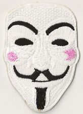 Patche écusson Anonymous Masque thermocollant patch décoratif