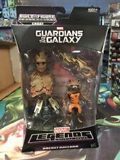 "Marvel Legends GOTG Rocket Raccoon Groot BAF Series 6""  Action Figure NEW"