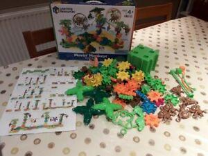 Learning Resources Movin' Monkeys STEM building toy