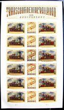 US #5378-80 Transcontinental Railroad - Forever Stamp Mint Sheet * Golden Spike