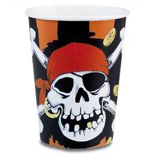 Piraten Einwegbecher aus Papier