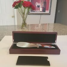 """Rhineland Cutlery 5"""" Spreader double edge serrated bendable for sandwich, Cake"""