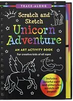 Unicorn Adventure Scratch and Sketch An Art Activity Book for Creative Kids of
