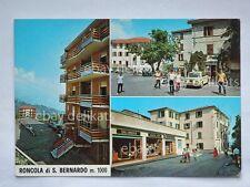 RONCOLA SAN BERNARDO vedutine salumeria Vespa Piaggio Bergamo vecchia cartolina