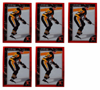 (5) 1992 Legends #61 Jaromir Jagr Hockey Card Lot Pittsburgh Penguins