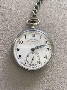 Montre A Gousset Chronometre F.vie Lip