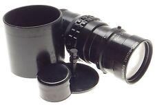 Kinoptik 1:2.5 f=150mm Apochromat tele camera lens 2.5/150mm Cameflex hood CLA'd