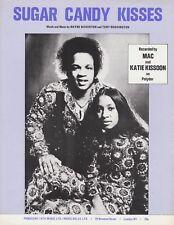 SUGAR CANDY KISSES-Mac e KATIE KISSOON - 1974 SPARTITI MUSICALI