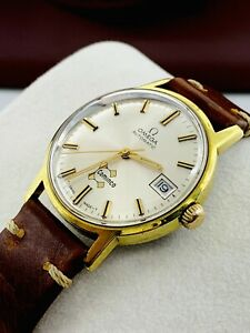 Vintage Gold Plated Automatic Omega Cal 565 Gents 24J Watch