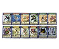 DIGIMON DIGI-BATTLE BOOSTER SERIES 4 - COMMON UNCOMMON NON-FOIL RARE 48 CARD LOT