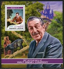 SIERRA LEONE 2018   95th  BIRTH ANNIVERSARY OF WALT DISNEY  S/ SHEET  MINT NH