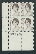 Scott # 1822....15 Cent....Dolley Madison...5 Plate Blocks...20 Stamps