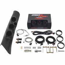 MaxTow Boost EGT Fuel PSI Gauges + Triple Pod w SPK for 98-02 Dodge Ram Cummins