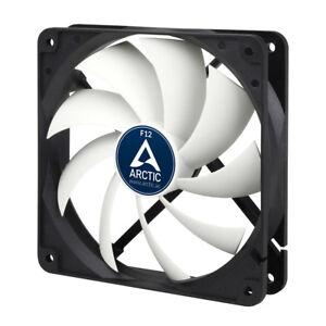 Arctic Cooling F12 120mm 12cm PC Case Fan, 1350 RPM, 53CFM, 3 Pin