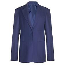 """School Blazer John Lewis Large Boys Men's Suit Uniform Royal Blue UK 48"""" AO51a"""