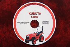 Kubota l3200 tracteur atelier service manuel de réparation