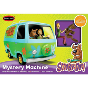 Polar Lights 901M 1/25 Scooby-Doo Mystery Machine SNAP (New Tool) Plastic Model