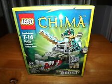 LEGO, CHIMA, CROCODILE LEGEND BEAST, KIT #70126, 122 PIECES, NIB, 2014