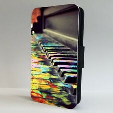 Piano Colourful Art Music FLIP PHONE CASE COVER for IPHONE SAMSUNG
