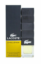 Authentic LACOSTE CHALLENGE 3 Oz EDT SP For Men New In Box