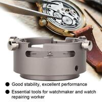 7750-53 Metal Watch Movement Case Setting Holder for Watchmaker Repair Tool Kit