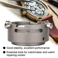 7750-53 Metal Watch Movement Case Setting Holder for Watchmaker Repair Tools Kit