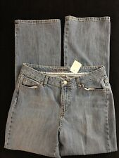 St Johns Bay Jeans Womens Size 12 Boot Cut Medium Wash Jeans