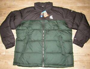Michigan State Spartans Columbia Omni-Heat Thermal Reflective Jacket Men's 2XL