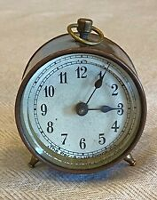 Vintage Lux, Par-a-Lux, small copper desk clock