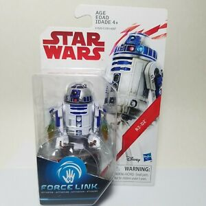STAR WARS FORCE LINK R2-D2 3.75 INCH ACTION FIGURE HASBRO
