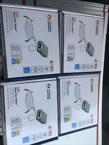 4X Lithonia WF4 - 4 in. Ultra Thin LED Wafer Switchable White Color Temperature