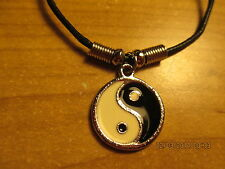 """NEW Chinese Yin Yang 17"""" cord necklace in package Jewelry"""