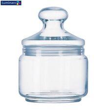 Luminarc Potclub Clear Glass Storage Jar 0.5L Kitchen New