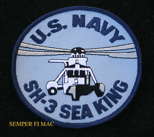 SH-3 Sea King PATCH US NAVY VET Helicopter ASW PIN UP SIKORSKY S-61 APOLLO NASA