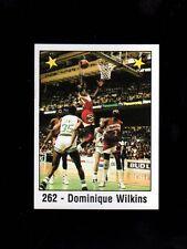 1988 Spanish NBA Hawks Set~Dominique Wilkins (2)~Doc Rivers~Reggie Theus~++++