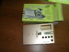 Golf Scorecard Holder Vintage Par Pak Super Model 400  Cig Holder MIB