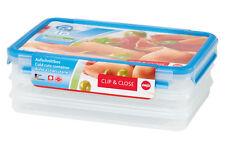 Emsa Clip & Close 3D aufschnittbox Lunch Box Snack versperbox 3 x 1