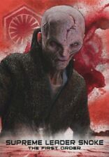 Star Wars Last Jedi S2 Red [99] Soldiers OTFO Chase Card FO-10 Sup Leader Snoke
