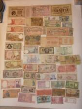 48 PIECE FOREIGN PAPER MONEY COLLECTION