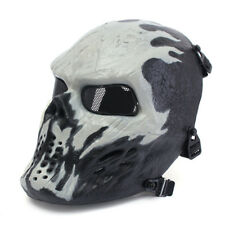 Airsoft Paintball Tactical Face Mask Combat Skull Skeleton Game Protect Chost US