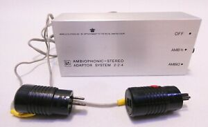 B&O BANG & OLUFSEN AMBIOPHONIC STEREO ADAPTER SYSTEM 2.2.4 TESTED WORKS WELL