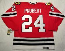 BOB PROBERT - size XXL - Chicago Blackhawks CCM 550 VINTAGE series Hockey Jersey