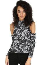 Damen-Pullover mit Paisley Normalgröße