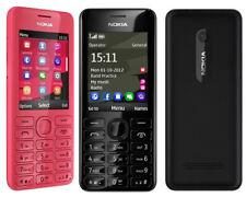 Unlocked Original Nokia Asha 206 2060 Dual SIM English Hebrew Keyboard Option